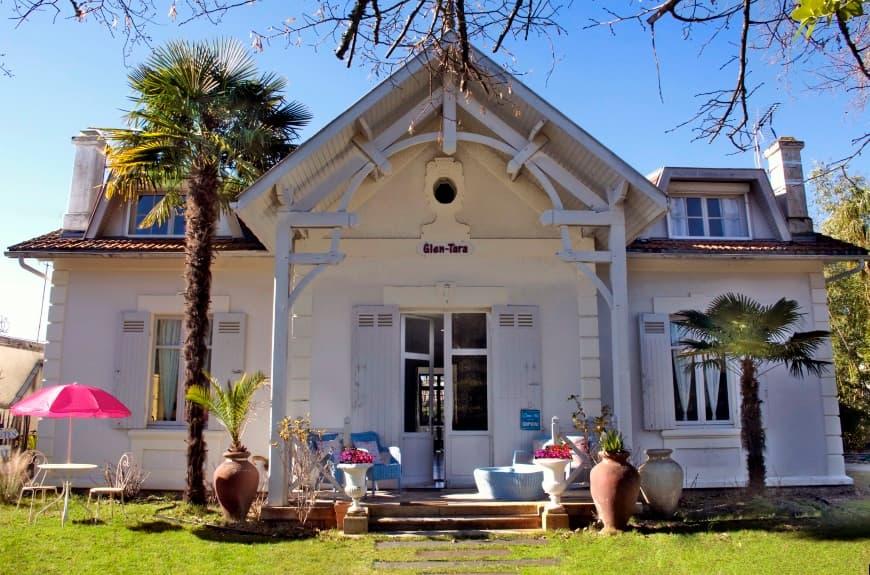 La villa Glen-tara - Maison d'Hôtes du Bassin d'Arcachon